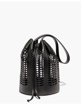Modern Weaving™ Jute Die Cut Bucket Bag by Madewell