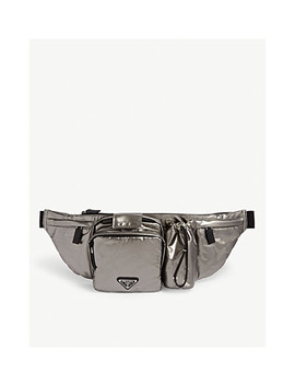 Metallic Belt Bag by Prada