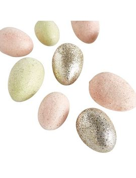 Glittered Easter Eggs by Pier1 Imports