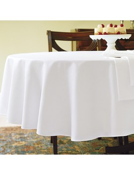 Hotel Tablecloth, Round by Williams   Sonoma
