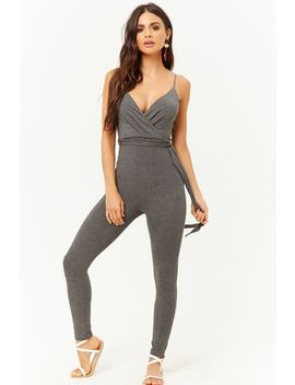 Surplice Cami Jumpsuit by Forever 21