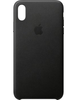 I Phone® Xs Max Leather Case   Black by Apple