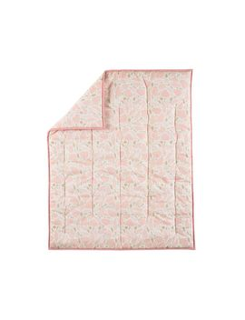 Woodland Pink Baby Quilt by Crate&Barrel