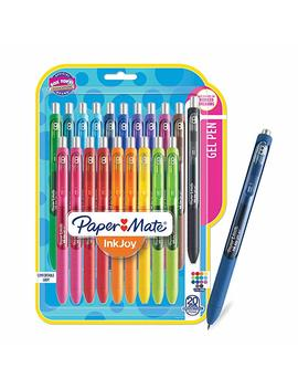 Paper Mate Ink Joy Gel Pens, Medium Point, Assorted Colors, 16 Count by Paper Mate