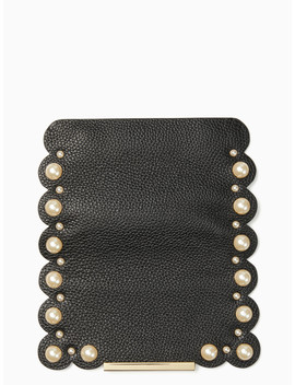 Make It Mine Scallop Pearl Flap by Kate Spade