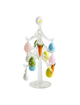 Collectible Glass Easter Tree by Pier1 Imports