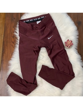 Maroon Nike Running Pants by Nike