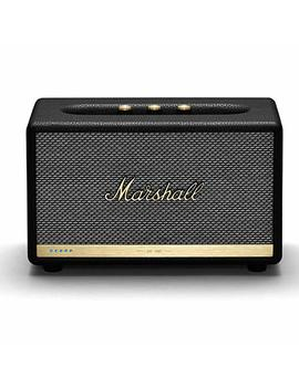 Marshall Acton Ii Wireless Wi Fi Multi Room Smart Speaker With Amazon Alexa Built In, Black   New by Marshall