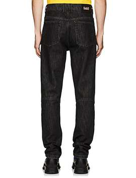 Exposed Zip Articulated Jeans by Gmb H