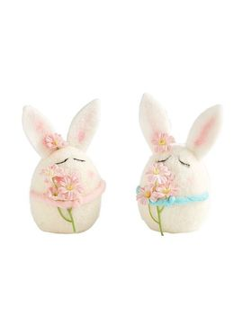 Wool Bunnies Set by Pier1 Imports
