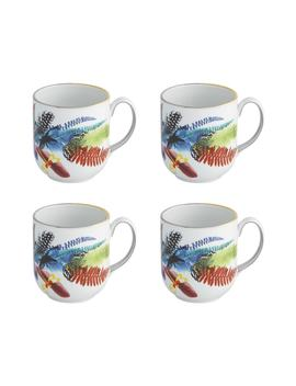 Caribe Set Of 4 Mugs by Christian Lacroix