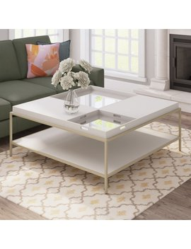 Latitude Run Allyson Square Coffee Table & Reviews by Latitude Run