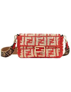 Baguette Ff Shoulder Bag by Fendi