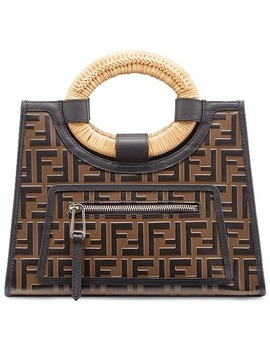 Small Runaway Shopping Tote by Fendi