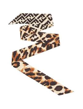 Leopard Print Wrappy by Fendi