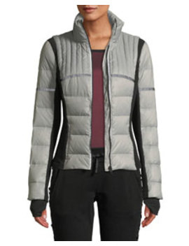 Featherweight Reflective Down Puffer Jacket by Blanc Noir