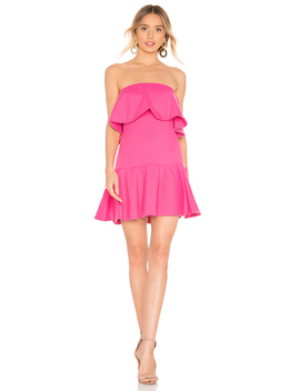 Ruffle Drop Waist Dress by Susana Monaco