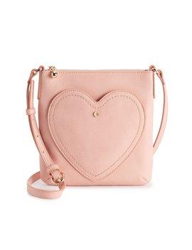 Lc Lauren Conrad Heart Pocket Crossbody Bag by Kohl's