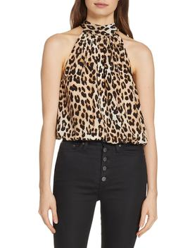 Maris Tie Back Top by Alice + Olivia
