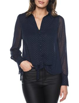 Dot Pattern Top by Bardot