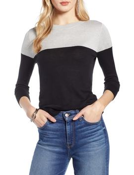 Colorblock Sweater by Halogen®
