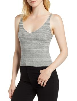 Camisole Knit Sweater Tank by Kersh