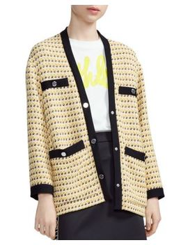 Visidore Tweed Jacket by Maje