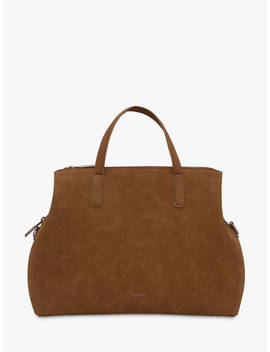 Matt & Nat Ricci Vegan Laptop Tote Bag, Cognac by Matt &Amp; Nat