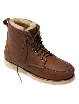 Signature Country Walker, Shearling Lined Oxford Shoes by L.L.Bean