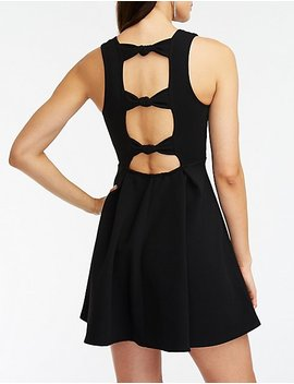 Knotted Back Skater Dress by Charlotte Russe