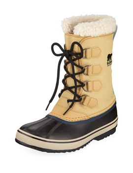 Men's 1964 Sherpa Lined All Weather Waterproof Duck Boots by Neiman Marcus
