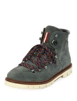 Men's Chack Suede Hiking Boots by Bally