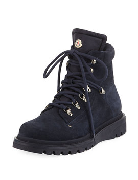 Men's Egide Suede Hiking Boots by Moncler