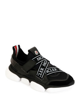 Men's Bakary Scarpa Running Sneakers by Moncler