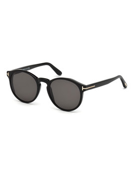 Ian Round Acetate Sunglasses by Tom Ford