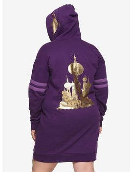 Her Universe Disney Aladdin Palace Hoodie Dress Plus Size by Hot Topic