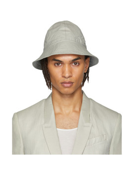 Grey Giligan Hat by Rick Owens