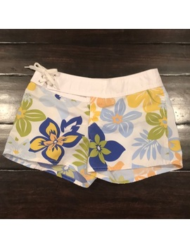 Roxy Girl Floral Short Boardshorts 14 by Roxy