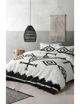 los-ojos-reversible-duvet-cover by pendleton