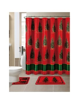 The Holiday Aisle 15 Piece Christmas Printed Bath Set & Reviews by The Holiday Aisle