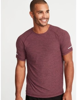 Ultra Soft Breathe On Go Dry Built In Flex Tee For Men by Old Navy