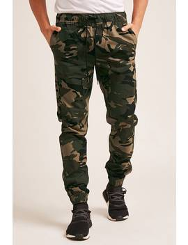 Camo Print Joggers by Forever 21