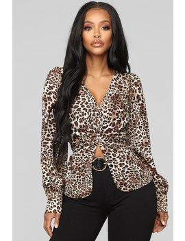 My Wild Side Cheetah Print Top   Cheetah Brown by Fashion Nova