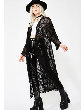 Midnight Festival Fomo Lace Kimono by Very J