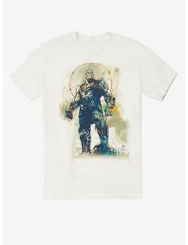 Marvel Avengers: Infinity War Thanos Sketch Splatter T Shirt Hot Topic Exclusive by Hot Topic