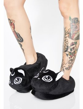 Meowgical Slippers by Killstar