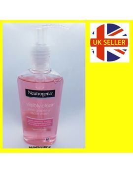 Neutrogena Visibly Clear Pink Grapefruit Facial Wash 200ml 24hr by Neutrogena
