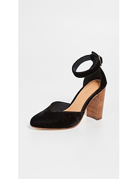 Collette Block Heel Pumps by Soludos