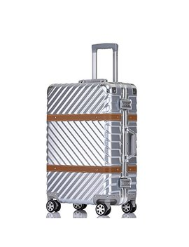 Unitravel Vintage Suitcase Retro Luggage Rolling Spinner Carry On Suitcase With Tsa Lock by Unitravel