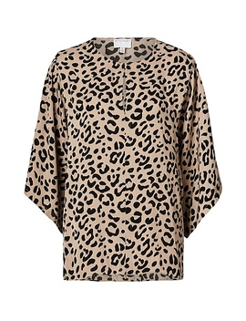 Animal V Neck Top by Witchery